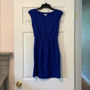 Worn once. Old Navy Royal Blue Sun dress. Size S